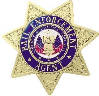A-9659 Bail Enforcement Badge
