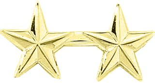 "2 STARS 1/2"" - SMOOTH-Blackinton Insignia and Recognition"