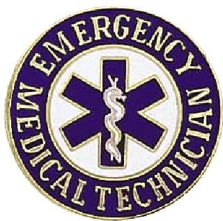 EMER MED TECH LAPEL PIN-