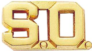 """S.O. Combo 1/2""""-Blackinton Insignia and Recognition"""
