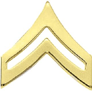 LG CORPORAL CHEVRONS-Blackinton Insignia and Recognition