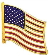 AMERICAN FLAG PIN-Blackinton Insignia and Recognition