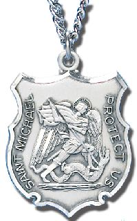 "1"" ST. MICHAEL MEDAL-Blackinton Insignia and Recognition"