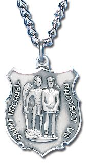 "5/8"" ST. MICHAEL MEDAL-Blackinton Insignia and Recognition"
