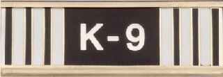 K-9 Handler Commendation Bar-