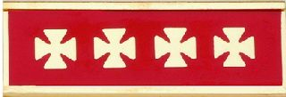 20 YR. Service Fire Commendation Bar-Blackinton Insignia and Recognition