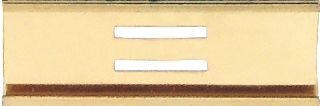"3/8"" SLIDE BAR - 1 BAR-Blackinton Insignia and Recognition"