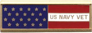 US NAVY VET W/FLAG-