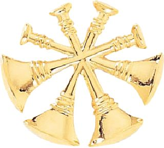 4-CROSSED BUGLES-Blackinton Insignia and Recognition