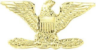 SM. Colonel Eagles-Blackinton Insignia and Recognition