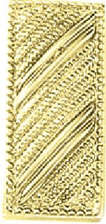 SM. Lieutenant Bars-Embossed-Blackinton Insignia and Recognition
