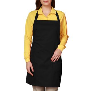 BIB APRON TEFLON - BLACK ONE SIZE WAIST SOLID-Blue Generation