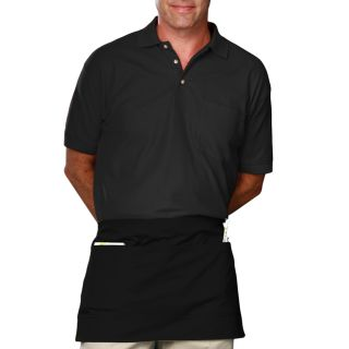 WAIST APRON TEFLON - BLACK ONE SIZE WAIST SOLID-Blue Generation