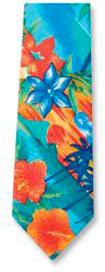 Tropic Print Tropical Ties
