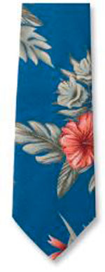 Floral Print Tropical Ties