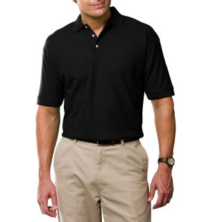 Men's Short Sleeve 100% Cotton Pique Polo