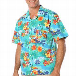 Tropic Print Camp Shirt