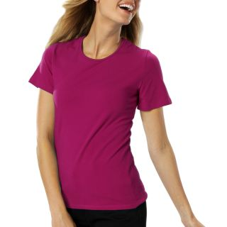 Ladies S/S Jewelneck Tee-