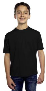 Youth Solid Wicking T-