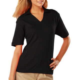 Ladies Short Sleeve Pima Cotton Polos