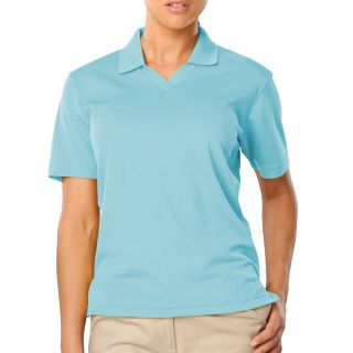 Ladies Superblend V-Neck Polo