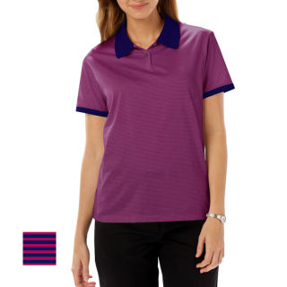 Ladies Easy Care 65/35 Polo-Blue Generation