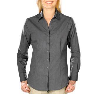 Ladies cross-weave L/S ShirtL
