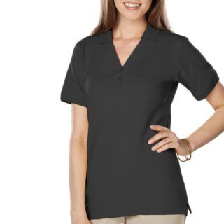 Ladies Soft Touch S/S Y-Placket Polo-Blue Generation