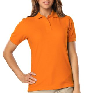 Ladies High Visibility Pique Polo-Blue Generation