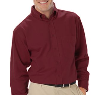 Mens Long Sleeve Light Weight Poplin Shirt