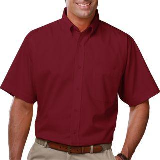 Men's Short Sleeve Light Weight Poplin Shirt