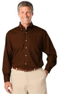 Mens Tall Easy care Poplin L/S Shirt