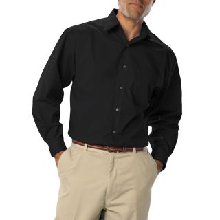 Mens Long Sleeve Easy Care Stretch Poplin-