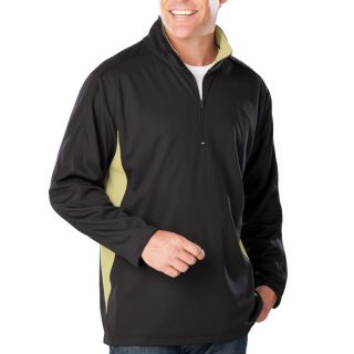 Mens Wicking L/S Zip Pullover