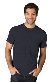 Adult S/S Crew Neck Triblend T-Shirt-Blue Generation