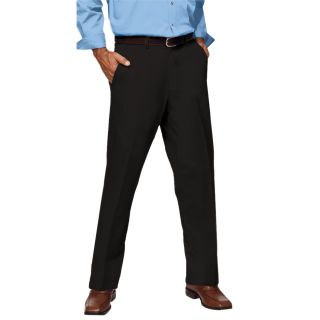 Men's Flat Front Teflon Treated Twill Pants-