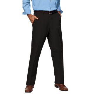 Men's Flat Front Teflon Treated Twill Pants-Blue Generation