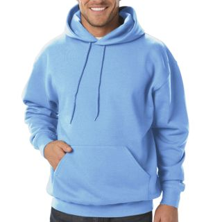 ADULT FLEECE PULLOVER HOODIE - BLACK 2 EXTRA LARGE SOLID-Blue Generation