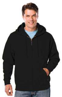 Adult Tall Zip Front Hoodie-Blue Generation