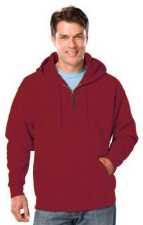 Adult Tall Fleece Zip Front Hoodie