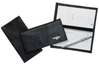 Checkbook Cover, Soft Leather-