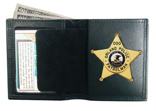 Book Style Badge Case / Wallet-