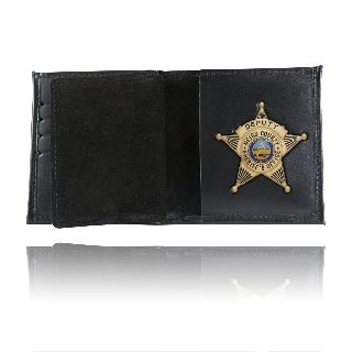 Book Style Wallet w/ Credit Card Slots-