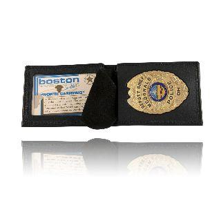Billfold Badge Case/Wallet-Boston Leather