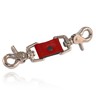 Shortened Anti-Sway Strap (Red Leather)-