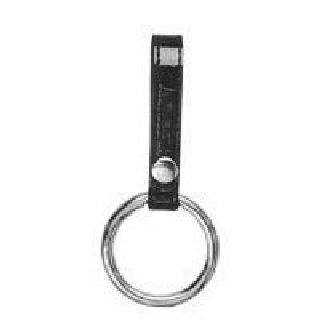 "Baton Ring, Single Snap, 1 3/4"" Metal Ring-Boston Leather"