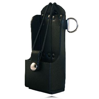 5473rc Radio Holder w/ D Rings-Boston Leather