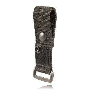 Epaulet Mic Holder, Snap Slot, Hook & Loop-Boston Leather