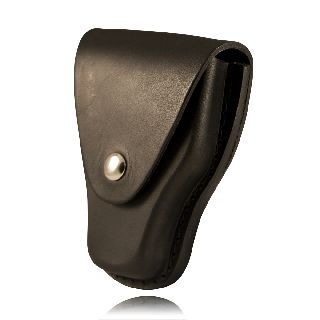Cuff Case, Closed, Slotted Back-Boston Leather