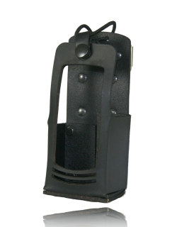 5617rc Radio Holder w/ D Rings-Boston Leather